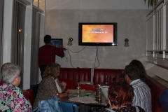 Karaoke in der Bar